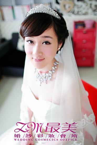 2011最美新娘彩妆造型图片