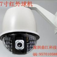 红外防水恒速球摄像机图片