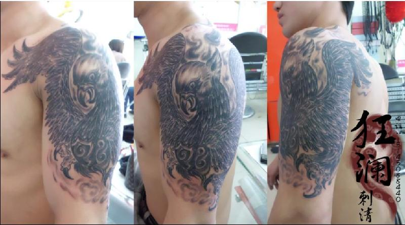 并且可以为顾客单独设计独一无二的个性纹身,时尚纹身