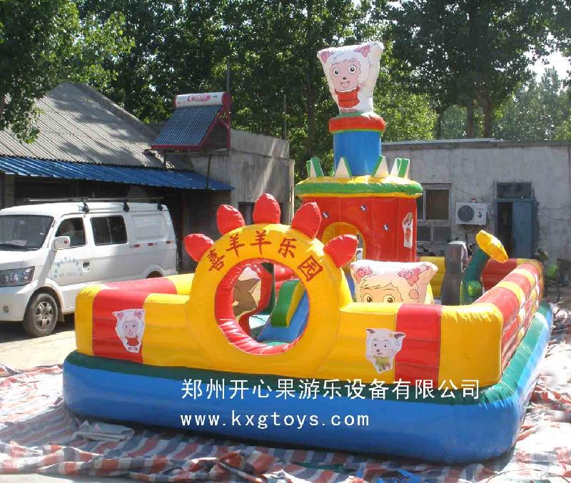 司生产供应儿童充气蹦床