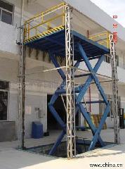 供應金中信供液壓升降貨梯固定式升降機