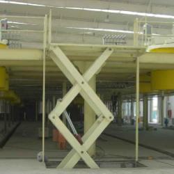 供應液壓升降貨梯99固定式升降機平台