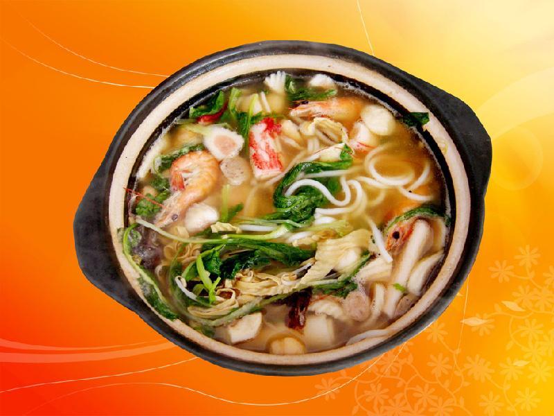 重庆砂锅米线图片图片大全 三鲜砂锅米线 评论,图片 图