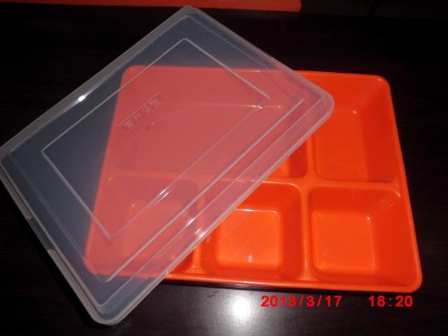 供应塑料饭盒塑料快餐盒密胺餐具