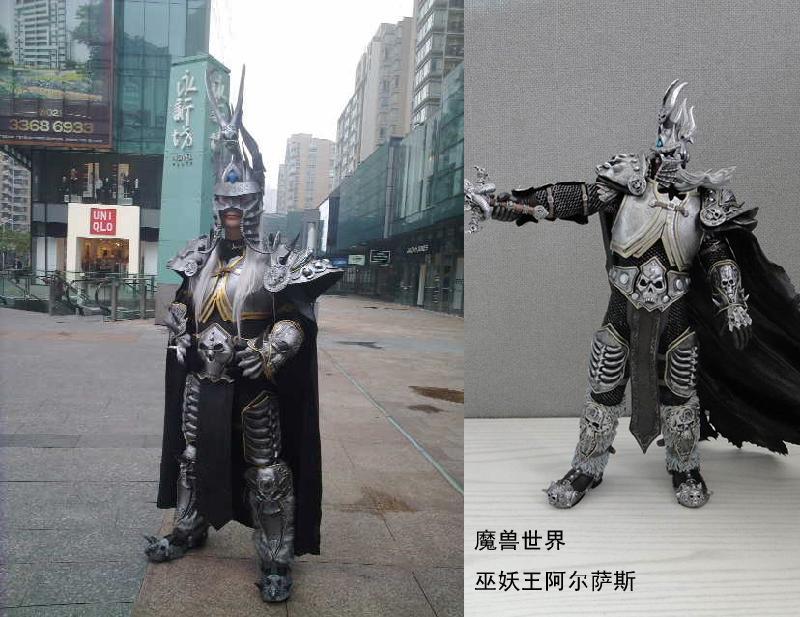 上海cosplay服装游戏 盔甲 设计定制和出租 高清图片