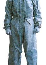氢碘酸氢氧化钠轻型半密封防护服,西气东输长输管道一体式护腰安全带