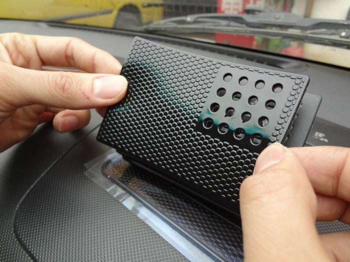 汽车防滑手机垫图片 汽车防滑手机垫样板图 汽车防滑手机垫 东莞市万高清图片