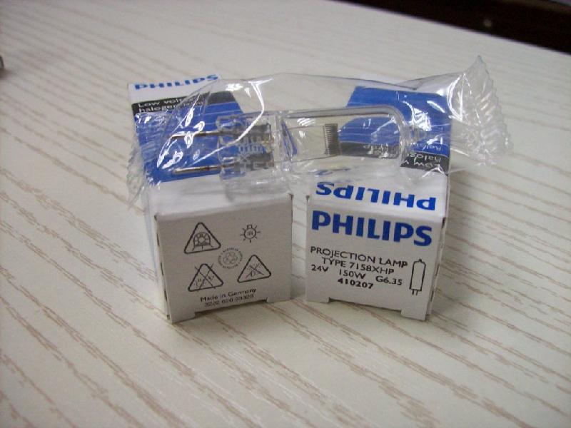 供应高品质PHILIPS 7158 24V150W灯泡(惠州)