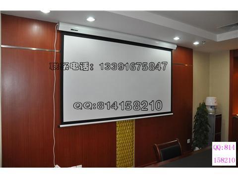 供应投影机液晶电视音响电动幕吊挂安装 调试 移机 各种吊架定制投