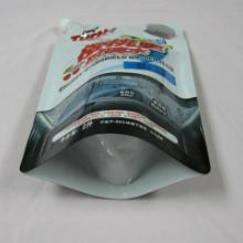 供应广东供应吸嘴袋自立吸嘴袋汽车玻璃水吸嘴袋专业生产