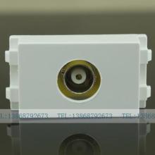 128焊线BNC监控插座 BNC模块 Q9视频插座 BNC监控摄像头