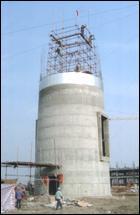 水泥烟囱新建烟囱滑模图片