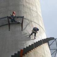 钢结构安装防腐烟囱维修图片