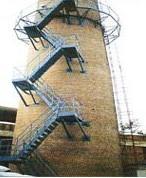 冷却塔新建电视塔维修烟囱脱硫防腐图片
