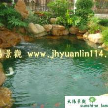 供应广州假山鱼池设计施工制作建造广州假山锦鲤池设计施工建造制作批发