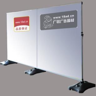 杭州广告背景展架立式背景支架图片