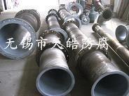 供应钢衬PO防腐管道、PE管道、四氟管道