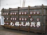 供应钢衬PVDF/PE/PO衬里化工防腐设备图片
