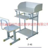 江西学生电脑课桌椅图片