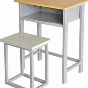 多层板课桌椅图片