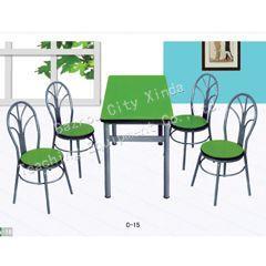 供应天津色彩亮丽餐桌椅