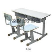 天津美观双人课桌椅图片
