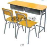西藏美观双人课桌椅图片