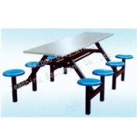 供应贵州连体餐桌椅