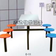 宁夏色彩亮丽餐桌椅图片