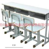 供应内蒙古双人课桌椅