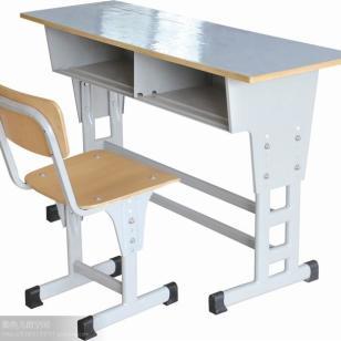 全国多层板课桌椅图片