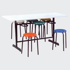 供应云南色彩亮丽餐桌椅