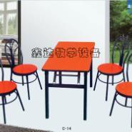 湖北省食堂餐桌批发图片
