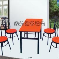 供应甘肃色彩亮丽餐桌椅