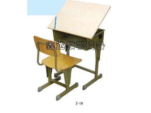 供应株洲美术升降课桌椅