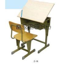 供应新疆美术课桌椅