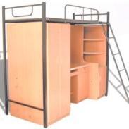 储物学习优质公寓床图片