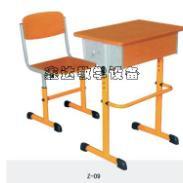 塑料包边课桌椅/烟台包边课桌椅图片