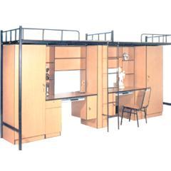 河南大学生公寓床图片