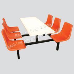供应长沙色彩艳丽餐桌餐椅系列图片