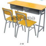 供应内蒙古舒适耐用学生双人课桌椅供应