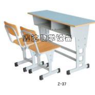 北京美观双人课桌椅图片