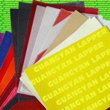 供应美容砂纸,指甲锉彩色砂纸,美甲美容砂纸, 白刚玉砂, 美术用彩画砂纸批发