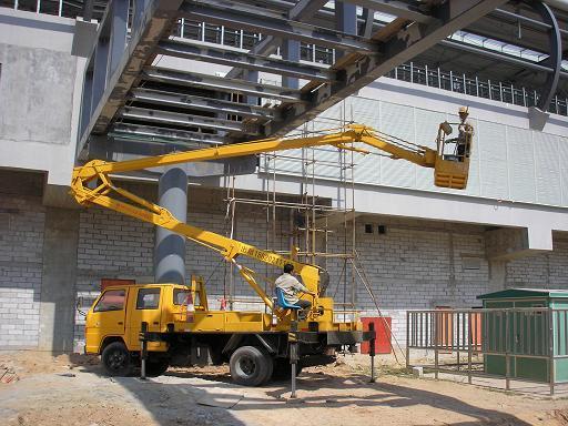 供应广州16米18米高空车出租,广州升降平台车出租