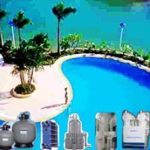 供应游泳池消毒泳池水处理药剂泳池沉淀药剂游泳池循环水处理设备