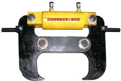 施工录相01产品说明:液压钳广泛用于钢筋混凝土的图片