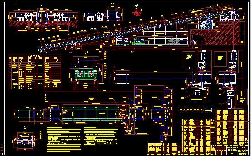dsj可伸缩皮带输送机皮带_dsj可伸缩图纸输送机械cad图纸齿轮图片