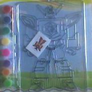 透光画艺术画彩绘画手工透光大单片图片