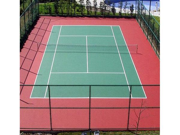 网球场地_
