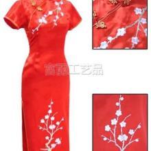 供应旗袍刺绣加工